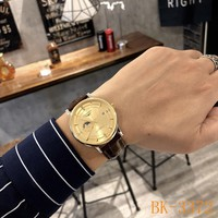 HCXX 19July 932 Longines business style mechanical movement leather watch size 40mm × 11mm