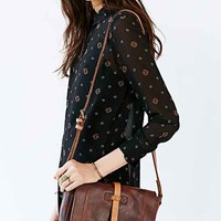 Will Leather Goods Crossbody Saddle Bag- Brown One