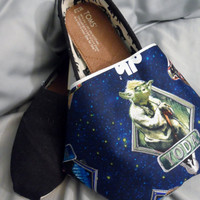 Star Wars Blue Fabric Character Toms