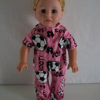 Handmade for American Girl 2 Piece Soccer Outfit with by vw53