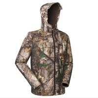 Fall-Remington waterproof soft shell hunting jacket outdoor jungle camouflage bionic suit camouflage ghillie suit