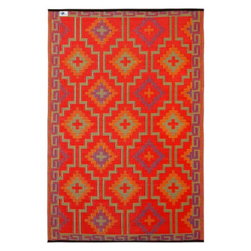 lhasa red outdoor rug