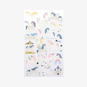 For your heart paper adhesive sticker - Unicorn