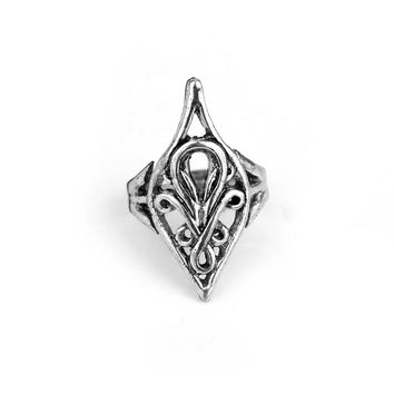 elf lord Elrond Silver Ring LOTR Lord Rings men jewelry hot sale high quality fan gift