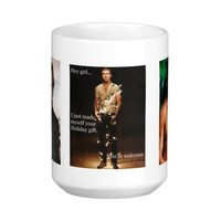 hey girl coffee mug