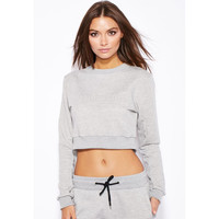 WANDERER Crop Sweater