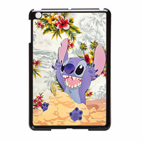 Disney Stitch Floral iPad Mini Case