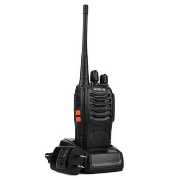 DCK4S2 Retevis H-777 2 Way Radios UHF Radio 400-470MHz 16CH Walkie Talkies with Earpiece Belt Clip (20 Pack) and USB Programming Cable