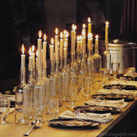 DIY Wine Bottle Candlesticks « homelifelove