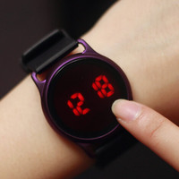 2016 New Waterproof Touchscreen Silicone Sports Watch Gift - 517