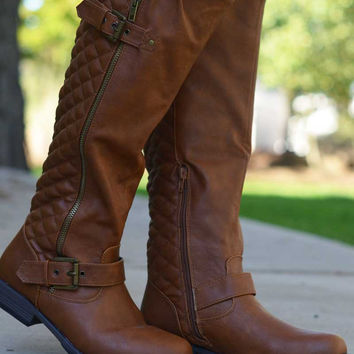 Walk in the Park Boots - Tan