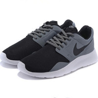 Nike Kaishi relaxation Reflective sneakers Black grey