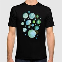 Bubbles Watercolor T-shirt by Doucette Designs