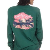 Canoe For Two - Long Sleeve – Lauren James
