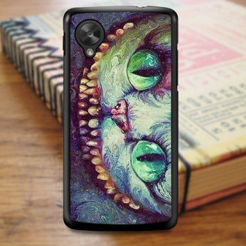 Madhatter Chershire Cat Nexus 5 Case