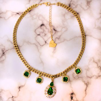 Green Goddess Choker
