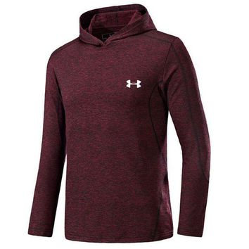 ONETOW UNDER ARMOUR Women Men Lover Top Sweater Hoodie Red Tagre?
