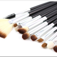 Professional High Quality Makeaup Brushes Set 15pcs