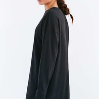 BDG Maeby Oversized Long-Sleeve T-Shirt Dress | Urban Outfitters