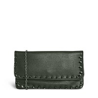 Johnny Loves Rosie Thick Stitched Clutch Bag