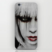 Lyric Portrait iPhone & iPod Skin by Galen Valle