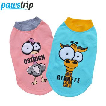 Cartoon Animal Big Eyes Breathable Shirt XS-XL