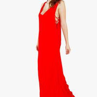 Sugarlips Rib Cage Maxi Dress