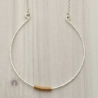Radiant Beauty Necklace in Silver