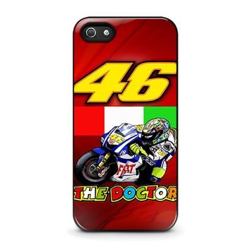 valentino rossi 2 iphone 5 5s se case cover  number 1