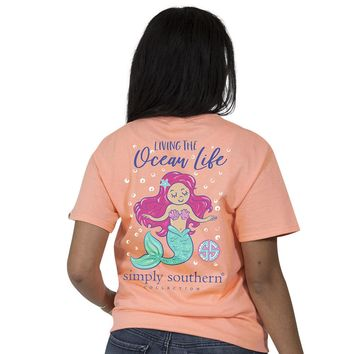 "Youth Simply Southern ""Preppy Ocean"" Short Sleeve Tee"