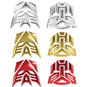HUANLISUN Transformers Car sticker 3D 3M glue auto badge emblem car styling accessories motorcycle