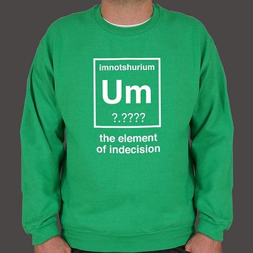 The Element of Indecision Men's Sweater