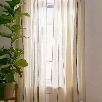 Chunky Embroidery Curtain