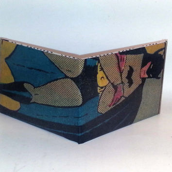 Comic Book Wallet// Golden Age Batman