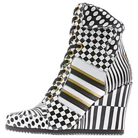 Jeremy Scott Wedge Hi Shoes