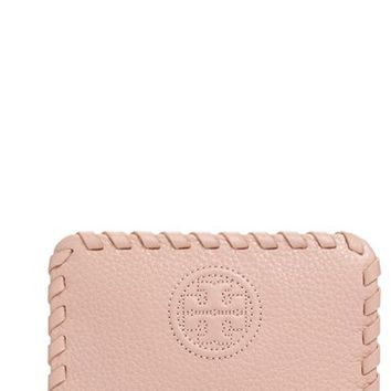 Women's Tory Burch 'Marion' Zip Coin Case