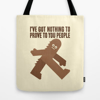 Surefooted Tote Bag by David Olenick