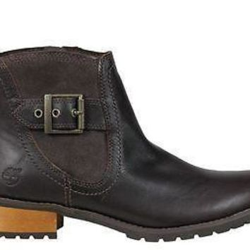 Timberland Ek Womens Ankle Boots Bethel Brown Leather 8329A