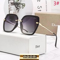 DIOR Fashion New Polarized Sunscreen Travel Eyeglasses Glasses