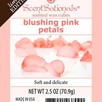 ScentSationals Blushing Pink Petals Wax Cubes, 2.5 oz