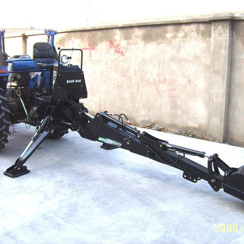 PTO Backhoe Farm Tractor Attachment BH6600 Category 1 Hitch John Deere