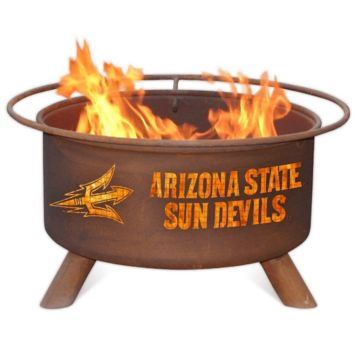 Arizona State Steel Fire Pit by Patina Products