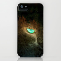 Green Eye - for iphone iPhone & iPod Case by Simone Morana Cyla
