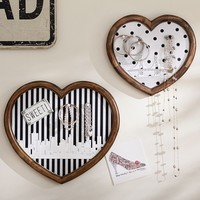 The Emily + Meritt Heart Wall Pinboards Set of 2