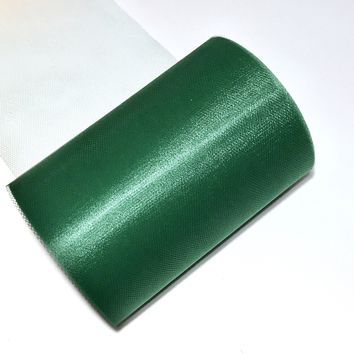 "Hunter green 6"" tulle fabric / 1-10 yards"