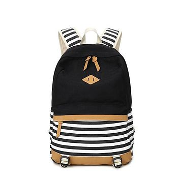 University College Backpack Winner Brand  Striped Women  Daily Book Bags Fringe Bagpack 15.6 inch Computer Student Bag for Teenagers GirlsAT_63_4