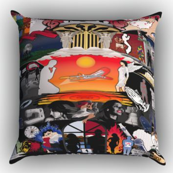 The Art Of Music Zippered Pillows  Covers 16x16, 18x18, 20x20 Inches