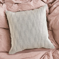 4040 Locust Reversible Shadow Stripe Pillow | Urban Outfitters