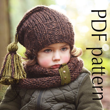 Kids Knit Hat Patterns : Best Etsy Knitted Hats For Kids Products on Wanelo