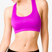 Medium Impact - Cutout Racerback Sports Bra